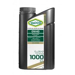YACCO VX 1000 LL 0W40 1L