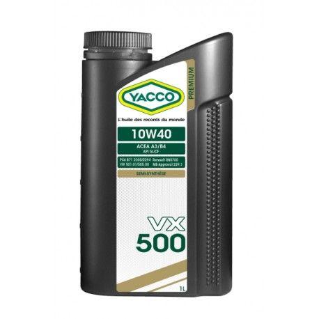 YACCO VX 500 10W40 1L