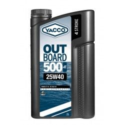 YACCO OUTBOARD 500 4T 25W40