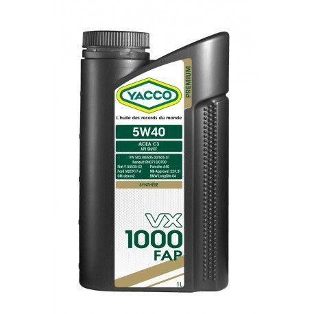 YACCO VX 1000 FAP 5W40 1L