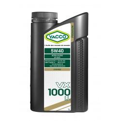 YACCO VX 1000 LL 5W40 1L